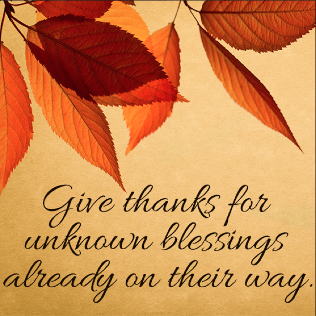Giving Thanks for God's Promises |